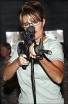 Sarah Palin Takes Aim